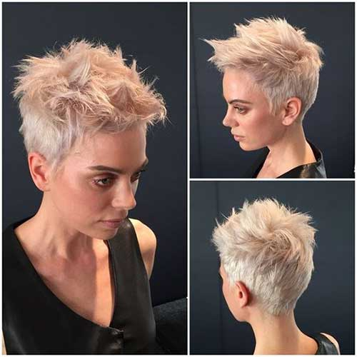Spiky Short Pixie Haircuts-14