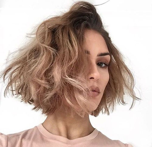 Hairstyles for Short Layered Hair-15