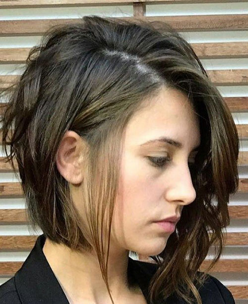 Hairstyles for Short Layered Hair-16