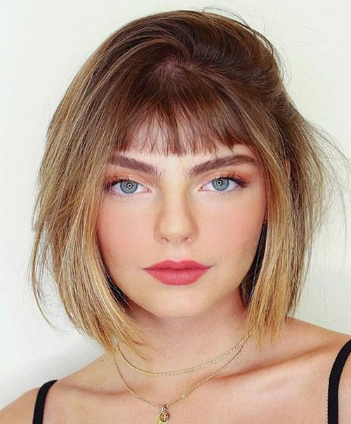 Hairstyles for Short Layered Hair-17