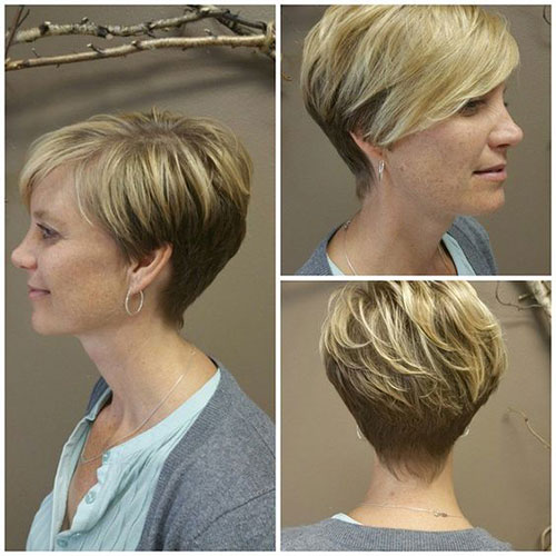 Best Short Haircuts for Women Over 5-18