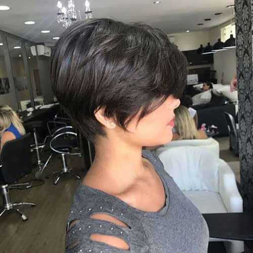 Hairstyles for Short Layered Hair-19