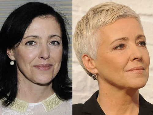 Best Short Haircuts for Women Over 5-20