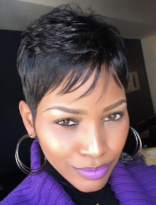 African American Short Cute Haircuts-21