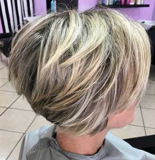 Short Hairstyles for Over 40-30