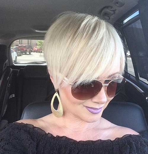 Short Hairstyles for Over 40-31