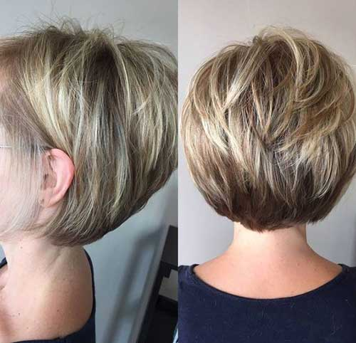 Short Bob Hairstyles for Over 40-6