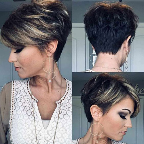 Best Short Haircuts for Women Over 5-6