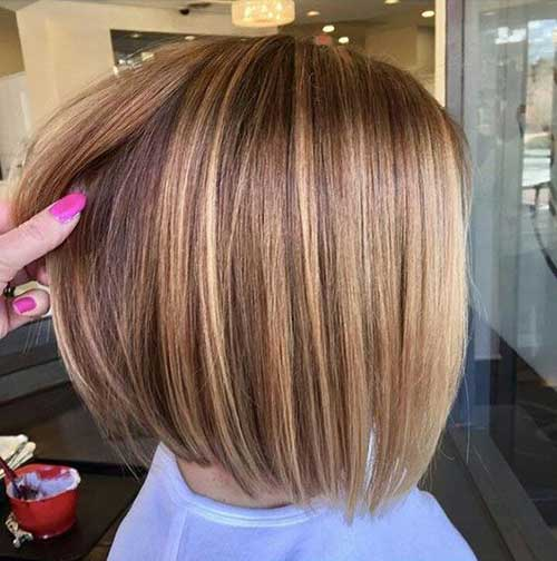 Cute Blonde Short Haircuts-7