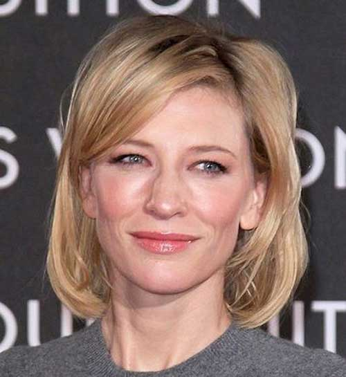 Simple Short Hairstyles for Over 40-7