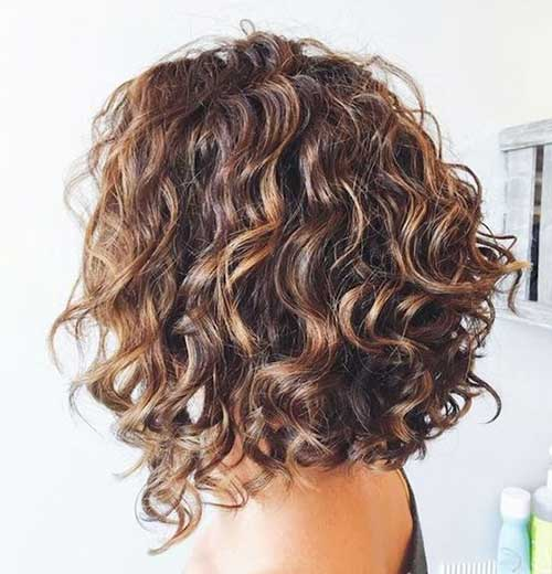 Thick Curly Bob Hairstyles-7