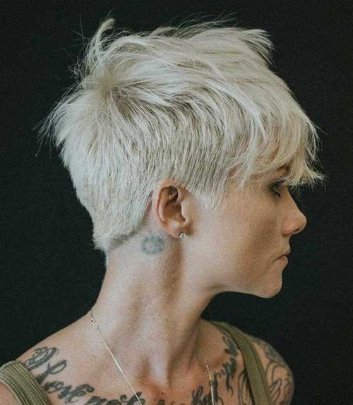 Hairstyles for Short Layered Hair-8