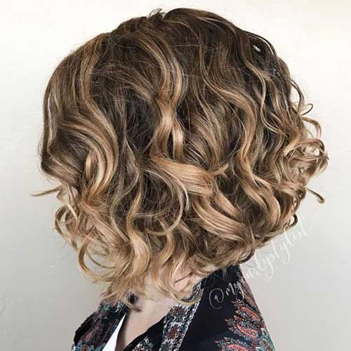 Bob Hairstyles for Curly Hair