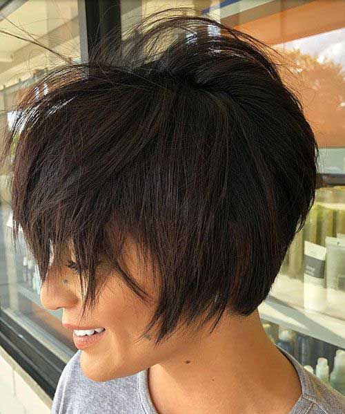 Cute Layered Hairstyles for Short Hair-10