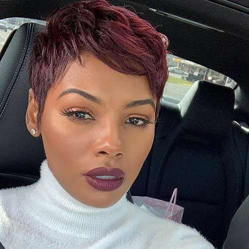Short Hairstyles for Black Ladies-11