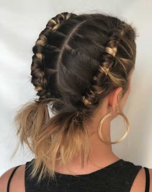 15 Cute Updos For Short Hair Cute Short Haircuts