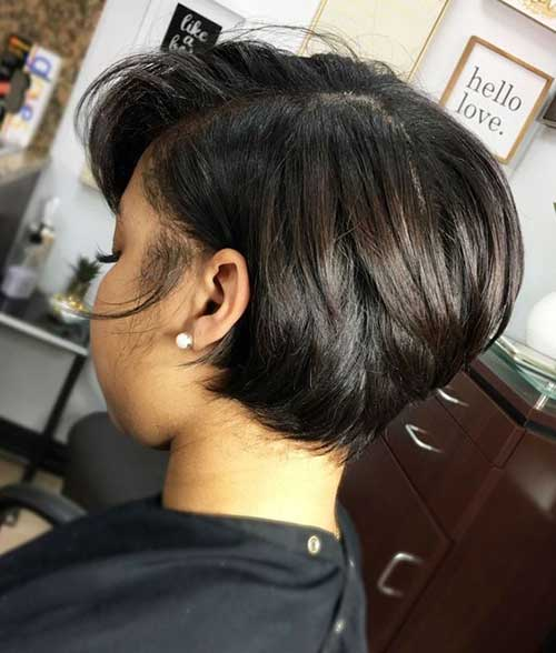 Short Hairstyles for Black Ladies-13