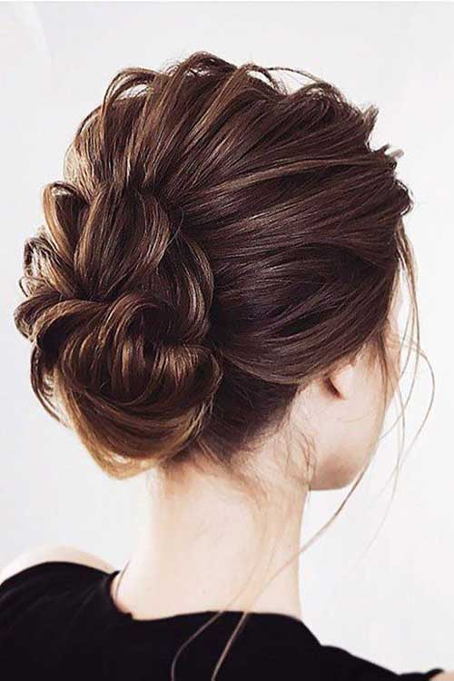 Cute Updos for Short Hair-13