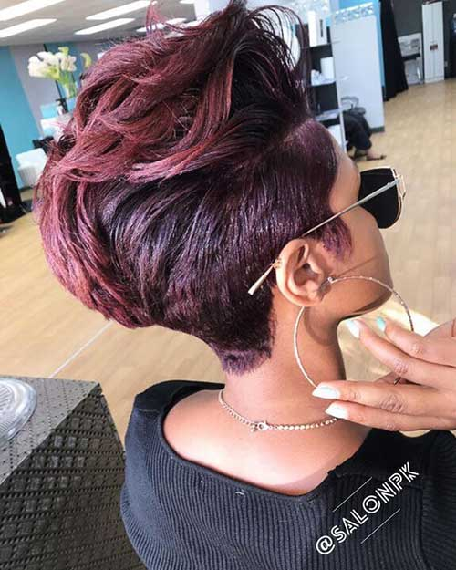 Short Hairstyles for Black Ladies-14