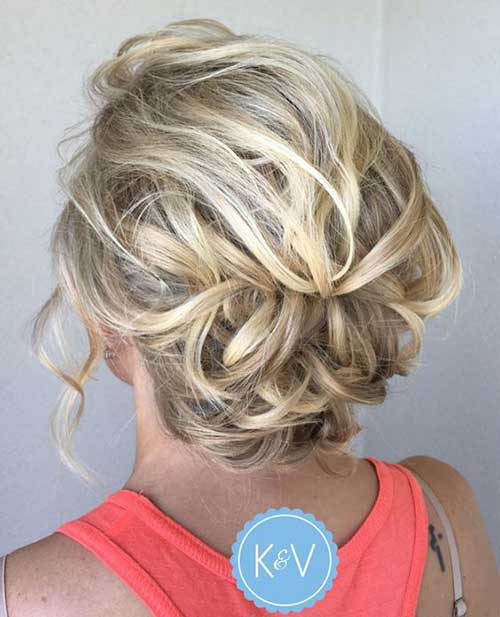 Cute Updos for Short Hair-14