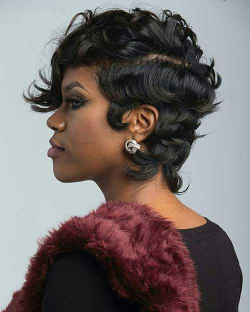 Short Hairstyles for Black Ladies-17