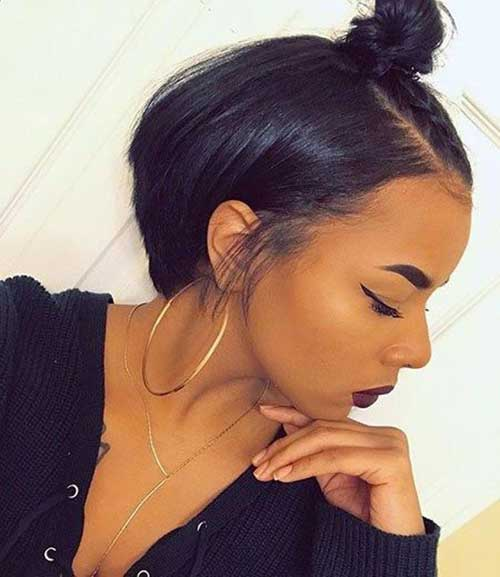 Short Hairstyles for Black Ladies-19