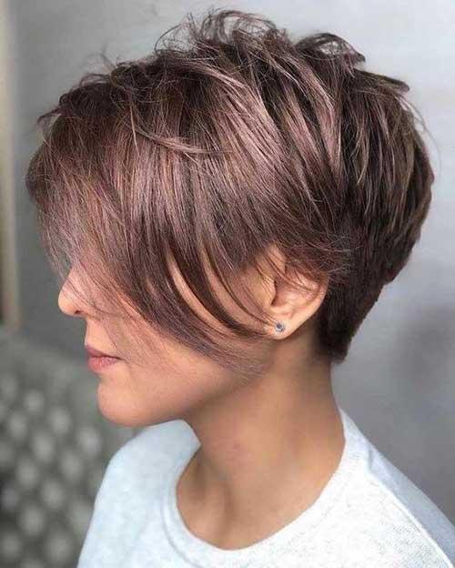 Cute Hairstyles for Short Hair-20