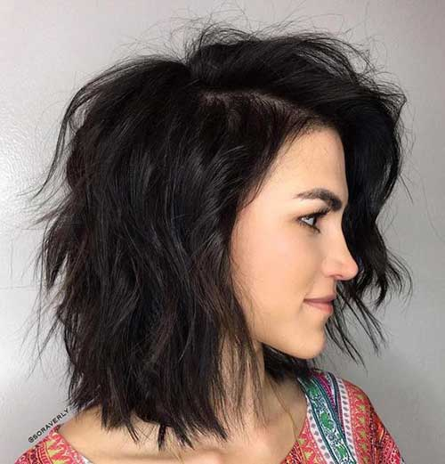 Bob Haircuts for Wavy Hair-20