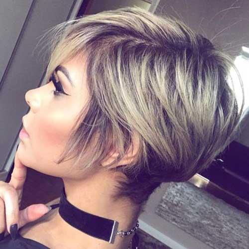 Modern Blonde Pixie Haircuts-6