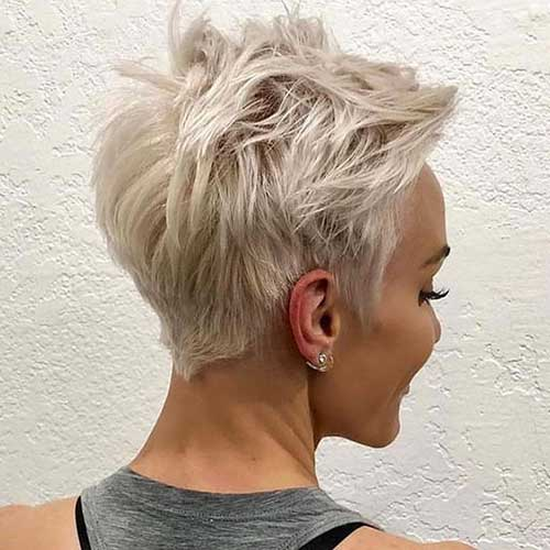 Messy Blonde Pixie Haircuts-7