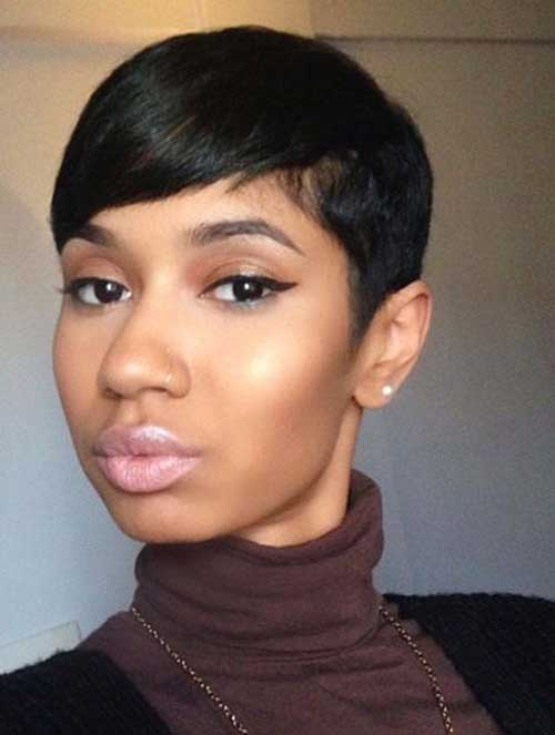 Relaxed Short Hairstyles for Black Ladies-7