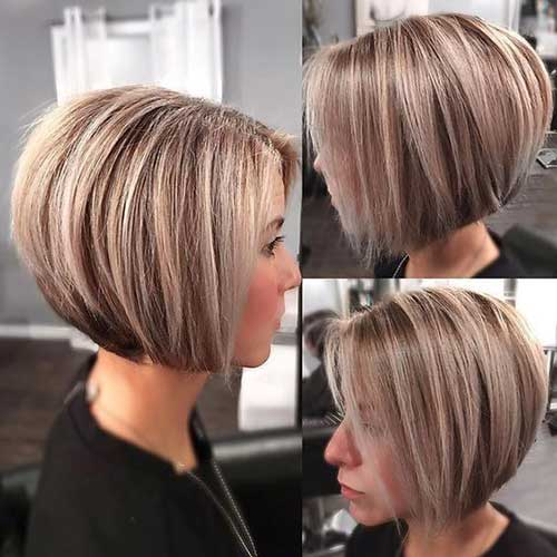 Short Blonde Bob Haircuts-7