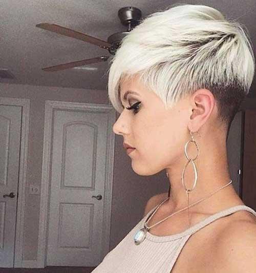 Asymmetrical Blonde Pixie Haircuts-8