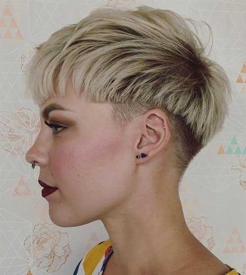 Blonde Bowl Pixie Haircuts-9
