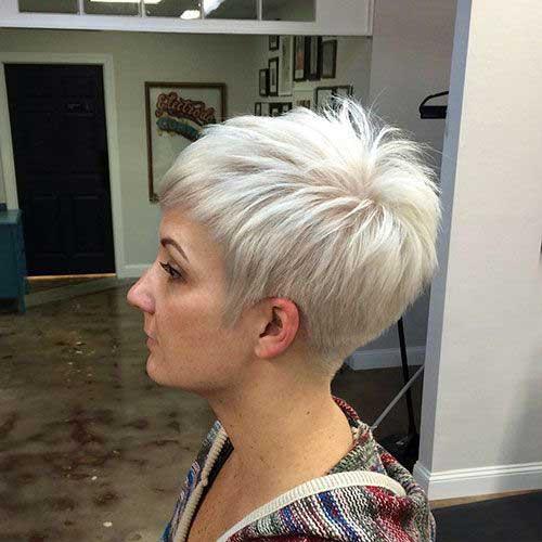 Blonde Pixie Haircuts