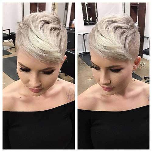 Short Blonde Pixie Cuts