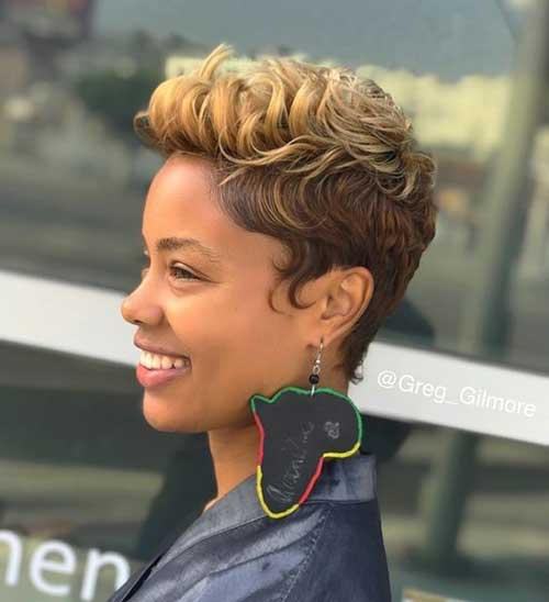 Short Hairstyles for Black Ladies