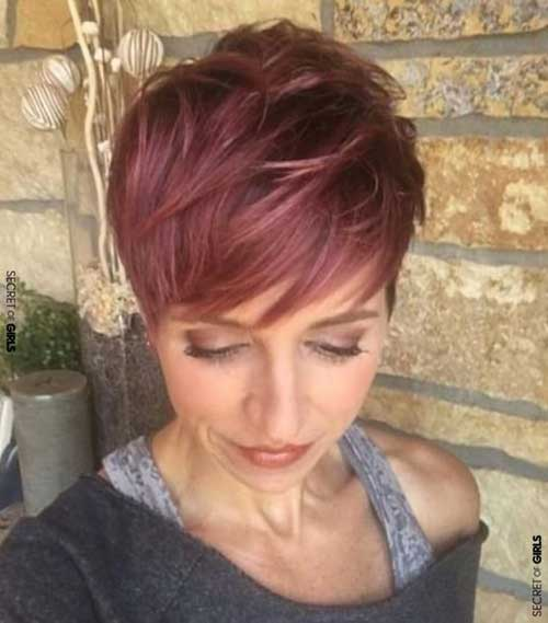 Rose Pink Pixie Crop Haircut-10