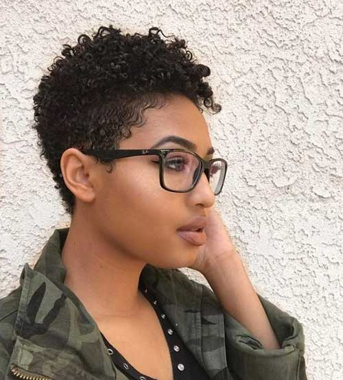 Cute Hairstyles for Short Hair Black Girl-11