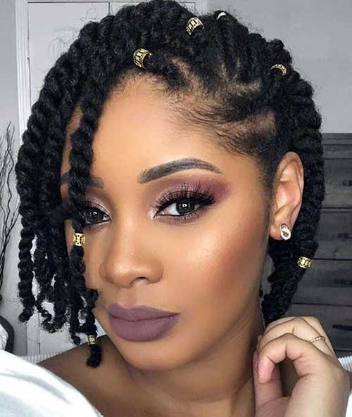Short Hairstyles for Black Women-17