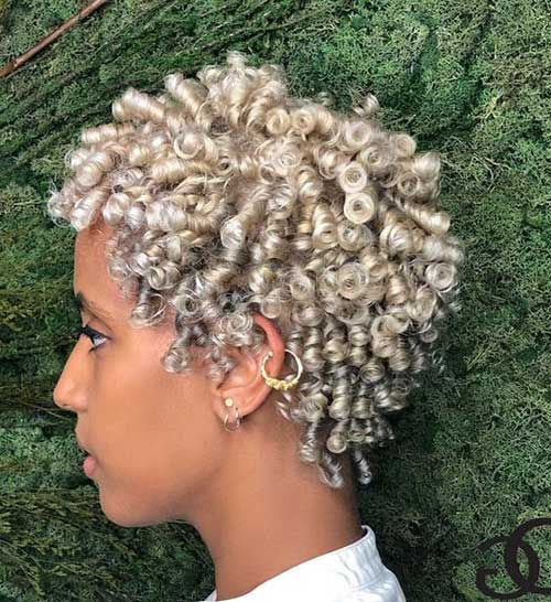 Cute Hairstyles for Short Hair Black Girl-18