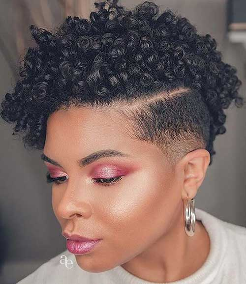Short Hairstyles for Black Women-20