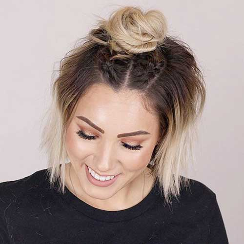 Short Updo Hairstyles-6