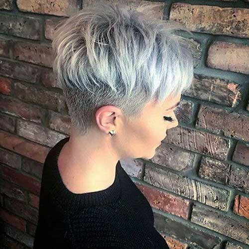 Very Short Cropped Hairstyles