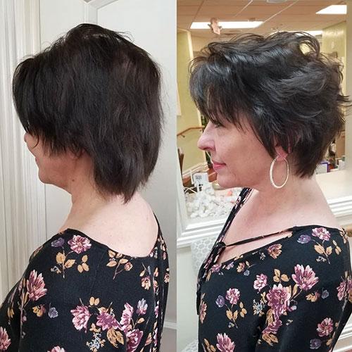 Short Choppy Layered Hairstyles