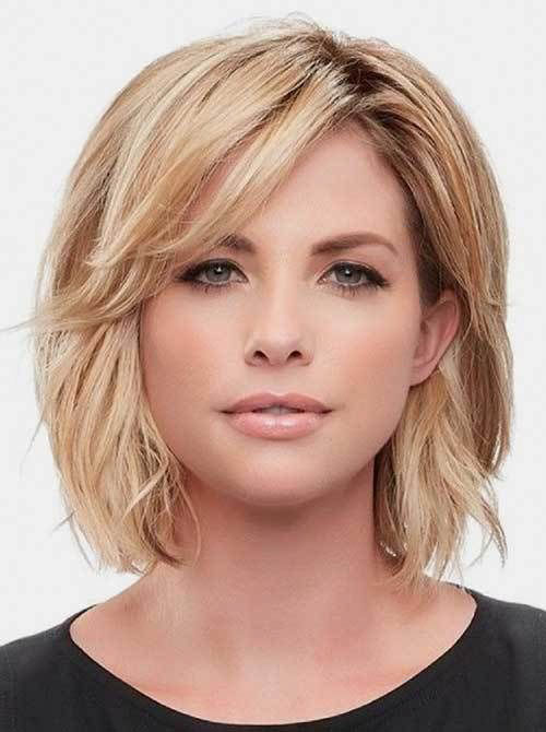 Short Natural Haircuts For Round Faces