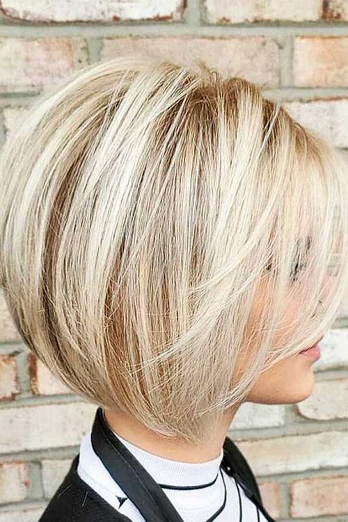 Modern Short Length Haircut