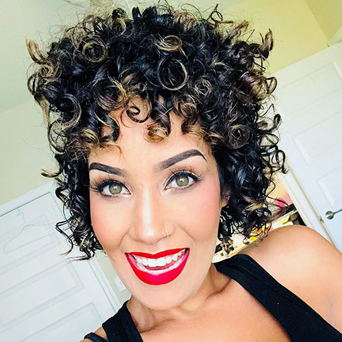 Very Short Haircuts For Curly Hair