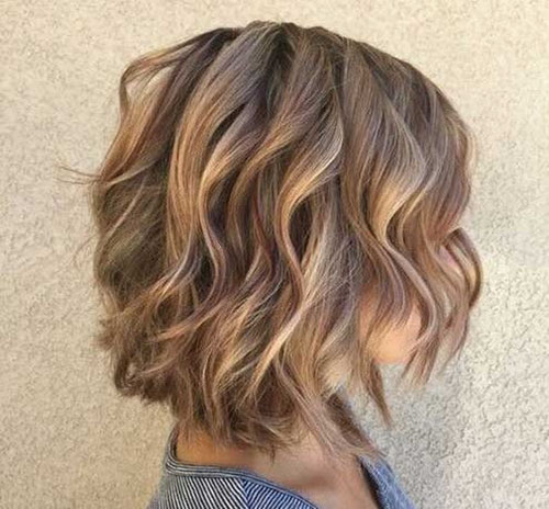 Layered Bob Cut Hairstyle