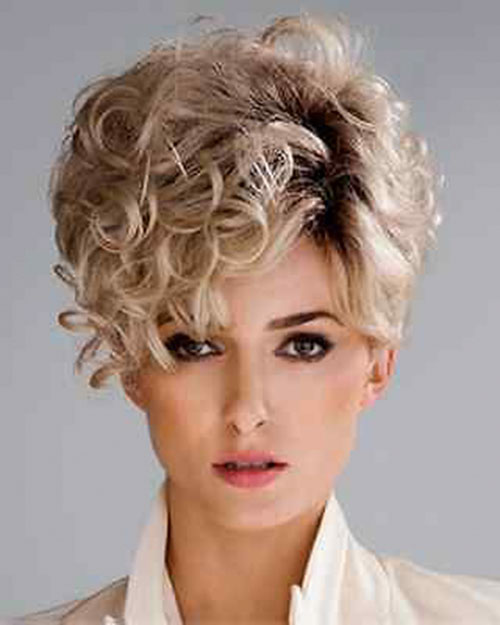 Very Short Curly Haircuts